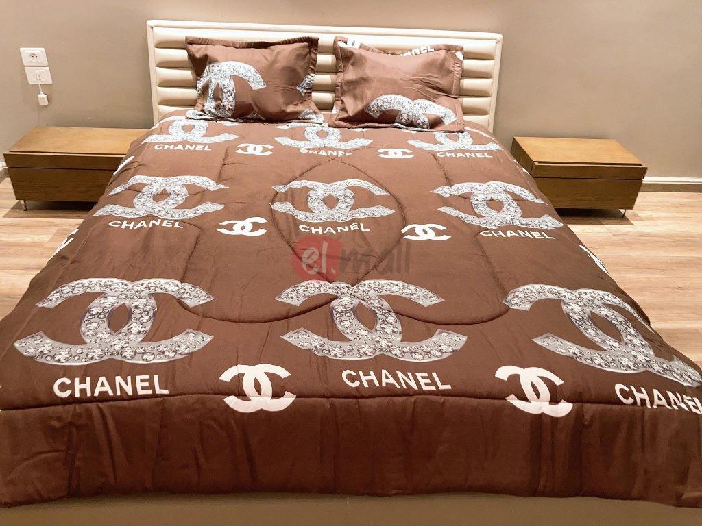 Couette 2 Places Chanel Maron Elmall Tn Vente En Ligne Tunisie